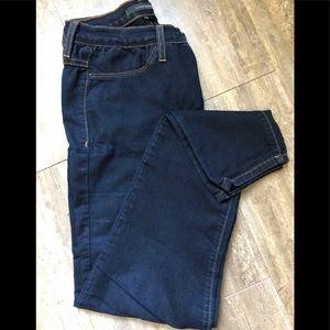 Flying money skinny jeans